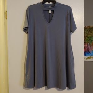 Zenana Premium tunic swing dress with pockets NWOT